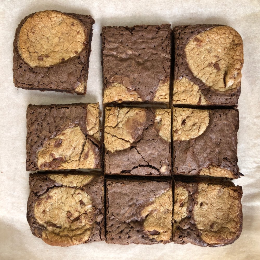 Which Marbled Cookie Brownie piece is the best?   Corner Middle Side REPLY with your answer #NationalChocolateChipCookieDay <br>http://pic.twitter.com/fKxqkwTFLO