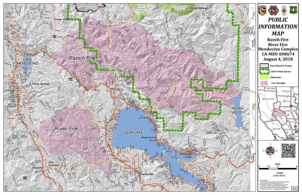 Cal Fire Map
