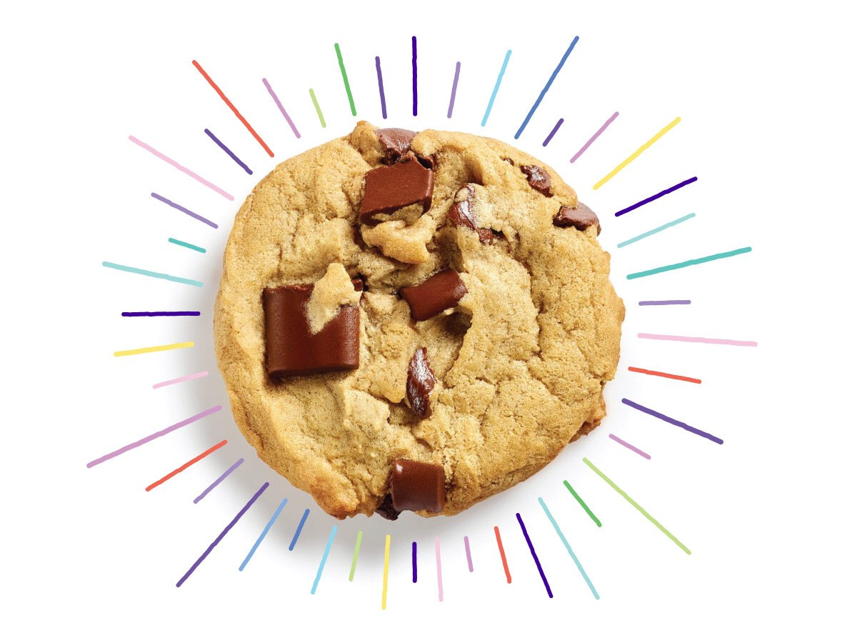 chunks for all!   PSA: FREE chocolate chunk  with a purchase TODAY only! #chunks4all  rt to save a life  #NationalChocolateChipCookieDay   *valid 8/4/18 only. see link for details  http:// bit.ly/chunks4all    <br>http://pic.twitter.com/rgDOqz0cXf