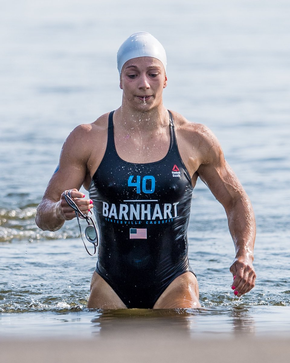 The Crossfit Games On Twitter Amanda Barnhart Was First Out Of The