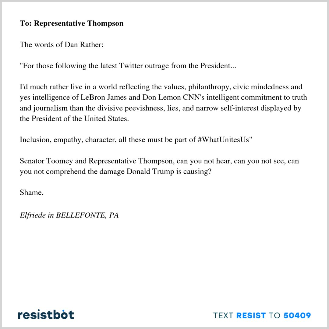 Don Lemon Open Letter.Resistbot Open Letters On Twitter Here S An Open Letter From