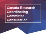 Image for the Tweet beginning: The Canada Research Coordinating Committee