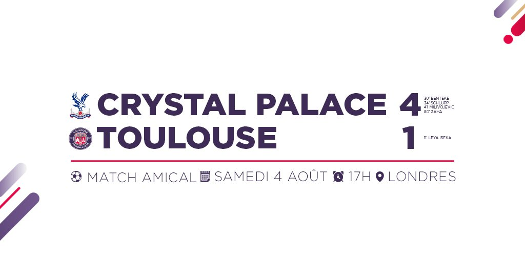 Toulouse-Crystal Palace