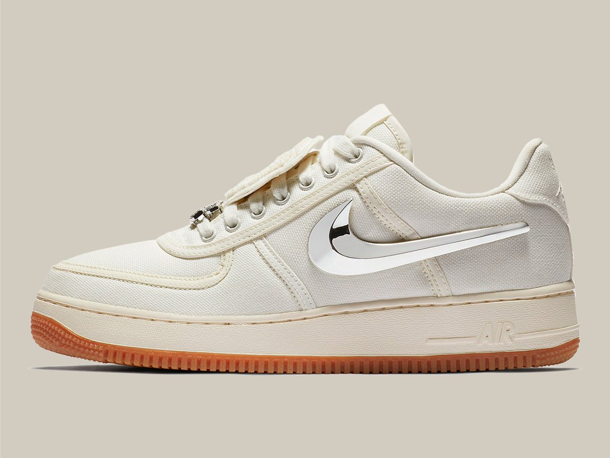 39b8721aee4a74 Nike x Travis Scott Air Force 1 Low Sail Auto-Checkout Giveaway RT + LIKE  -  Every 20 equals 1 FREE Nike SNKRS slot. FREE slots will be available  Friday ...