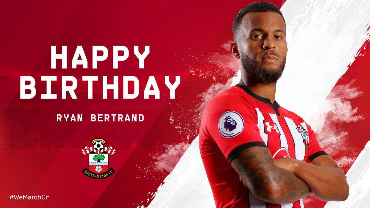 a0923e0d6049c We're wishing a very happy 29th birthday to #SaintsFC's @ryanbertrand3  today!