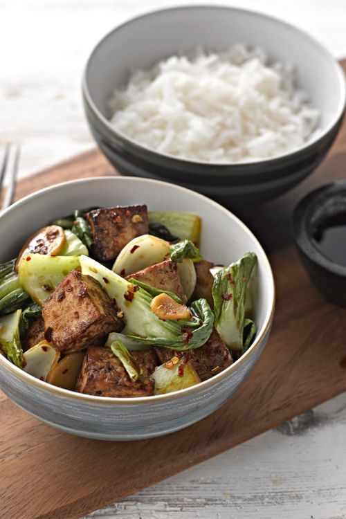 Marinated Ginger Tofu with Pak Choi https://t.co/rJ4BE5dlHT #vegan #recipe https://t.co/002o0aIvKA
