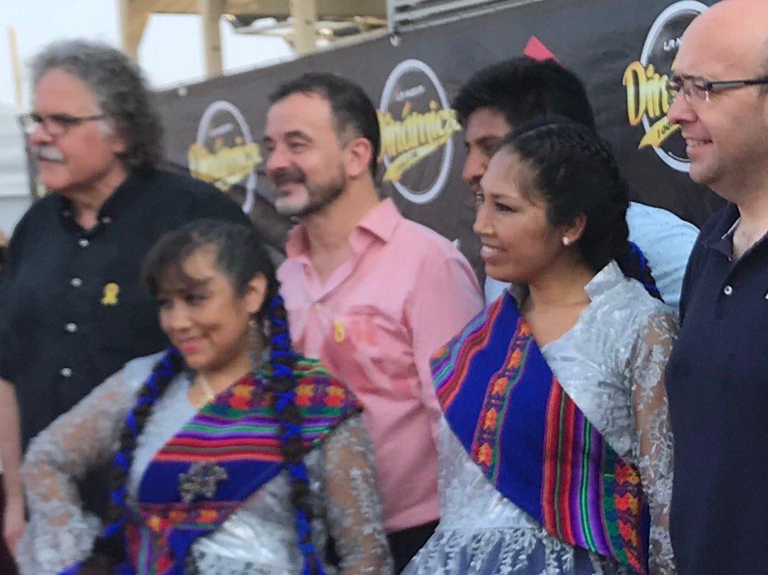 Amb amics bolivians celebrant la seva festa nacional. I la nostra diversitat.