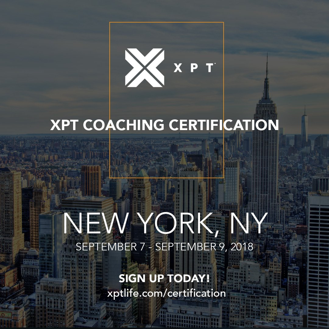 Xpt On Twitter Join The Ever Growing Team Of Xpt Certified Coaches