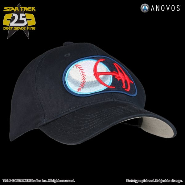 74a30e7b61d ... on our website!  https   www.anovos.com collections new-arrivals products star-trek- deep-space-nine-niners-baseball-cap-2018-reservation …  StarTrek  DS9 ...