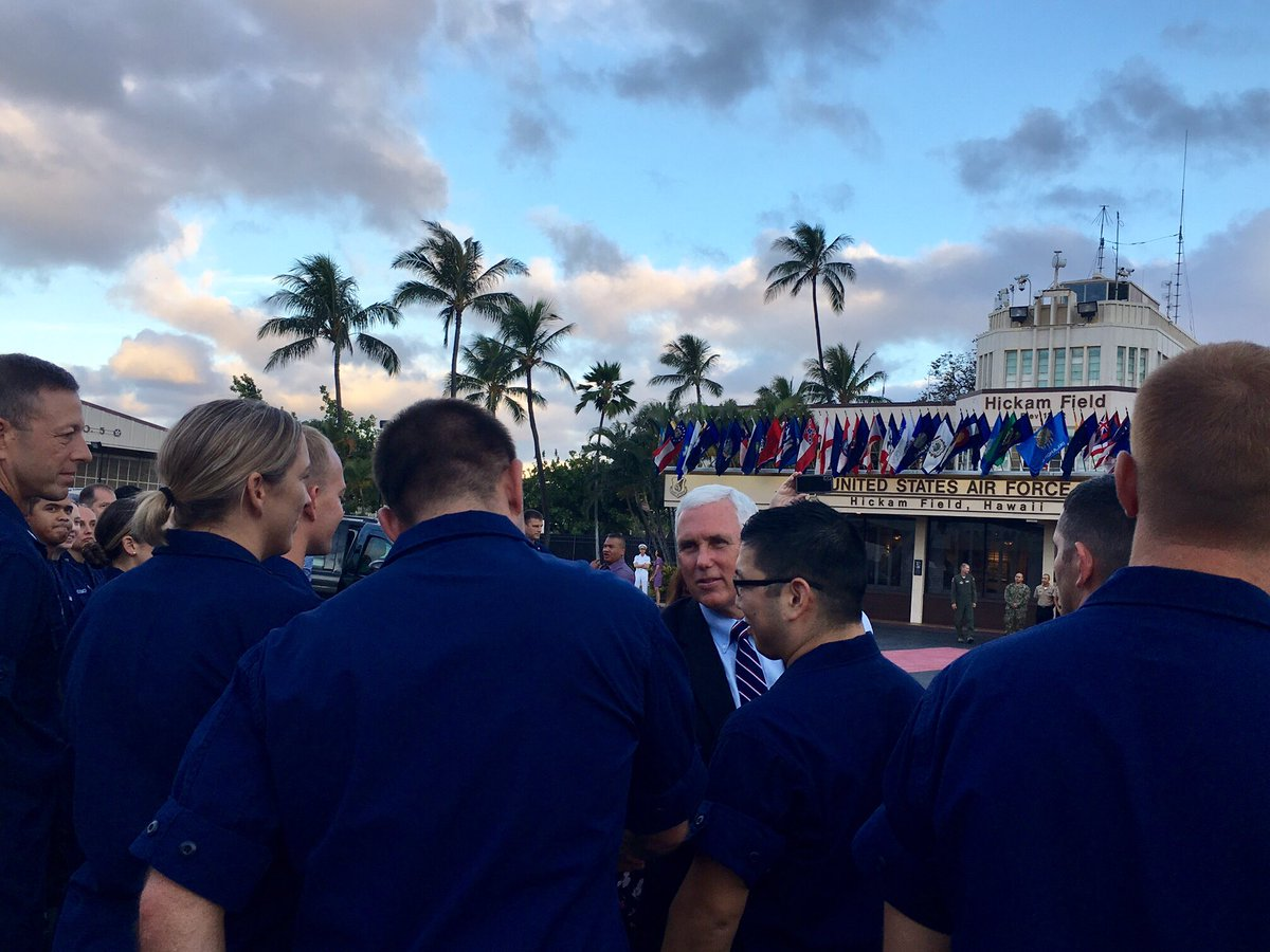 Happy Birthday to the @USCG! THANK YOU for your tireless work and service to defend our shores since 1790. Honored to spend time with the great men & women of the US Coast Guard stationed in Hawaii before heading home.