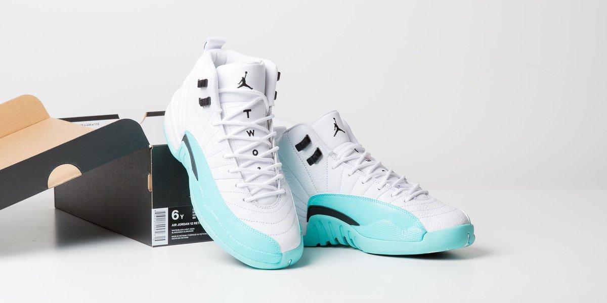 new style 24757 a26b6 titoloshop N E W 🐬 IN 🚀 Air Jordan 12 Retro (GS) - Light ...