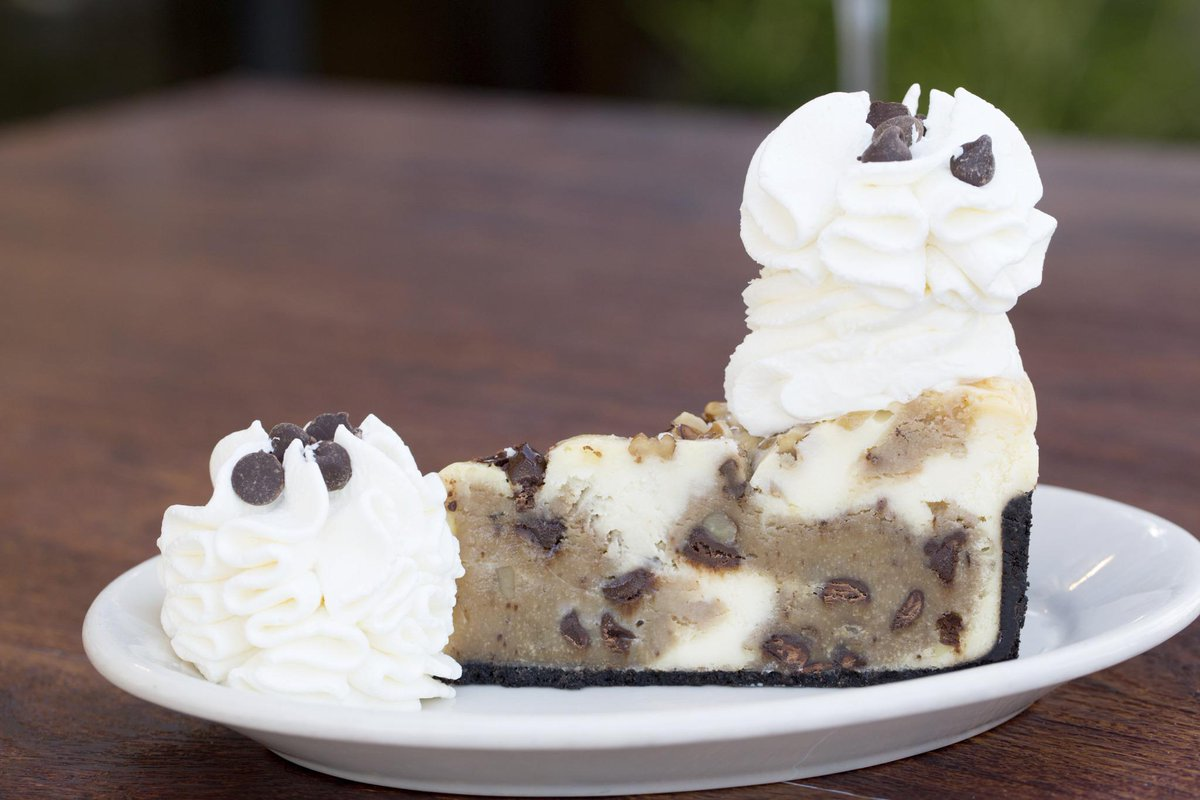 Happy #NationalChocolateChipCookieDay! Be a smart cookie and celebrate with Chocolate Chip Cookie-Dough Cheesecake. <br>http://pic.twitter.com/Zji453QI27