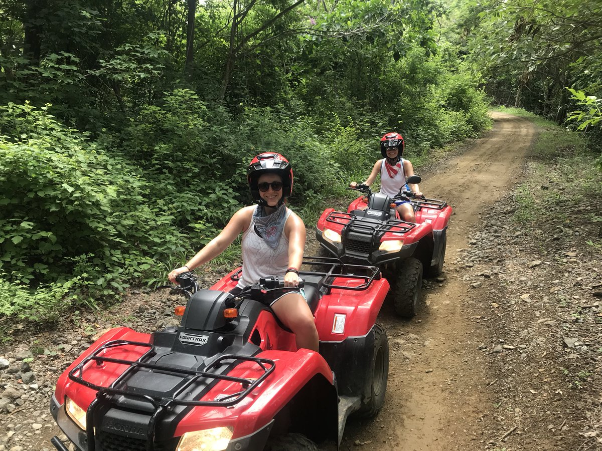 Fifth grade teachers on ATVs in Costa Rica! Have fun and be safe Ms. Nolan and Ms. Hall. See you in a few weeks! <a target='_blank' href='http://twitter.com/Glebe5thgraders'>@Glebe5thgraders</a> <a target='_blank' href='http://twitter.com/APSVirginia'>@APSVirginia</a> <a target='_blank' href='http://twitter.com/glebepta'>@glebepta</a> <a target='_blank' href='https://t.co/aaqDn80088'>https://t.co/aaqDn80088</a>