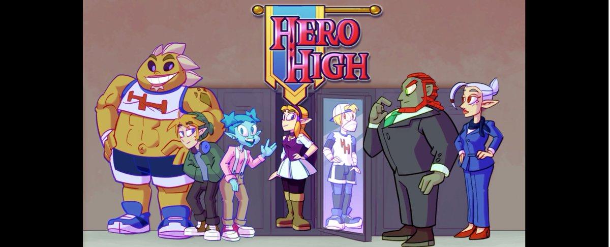 [Animação/Games]Hero High - A Lenda de Zelda... na escola?! DjyemGyU0AElLTq