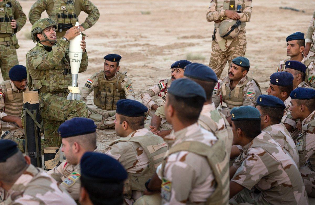 جهود التحالف الدولي لتدريب وتاهيل وحدات الجيش العراقي .......متجدد - صفحة 3 Djyp3RDXgAAR6A3