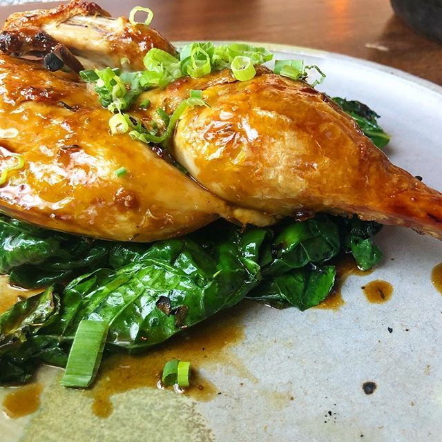 That organic chicken with sautéed kale and mushroom au jus makes my heart skip a beat. @pinchmiami #foodgasm https://t.co/NY3pI1AiMV