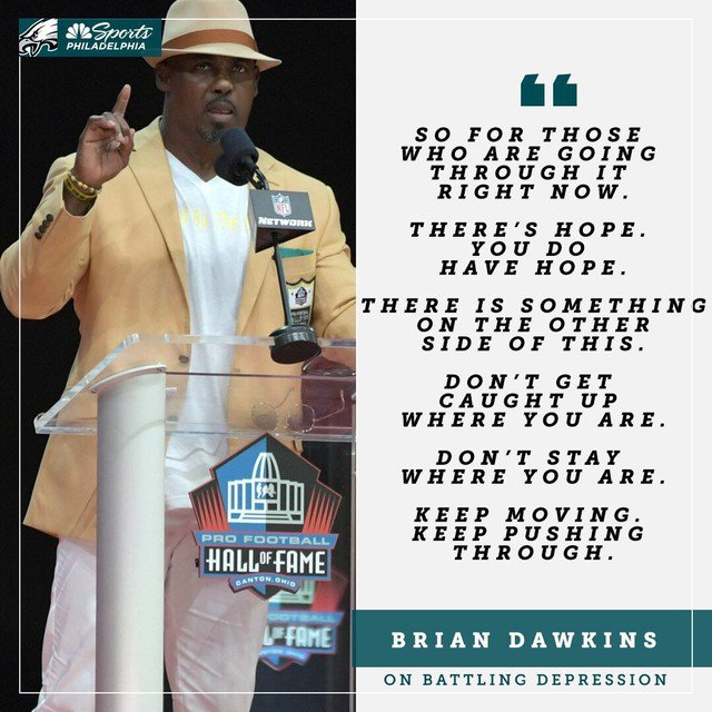 Don't Get Caught Up Where You Are.  @BrianDawkins #NFLHOF https://t.co/Q2VQMdjh41