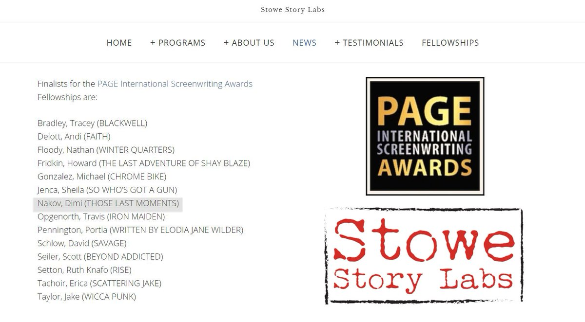 page screenplay contest promotion code