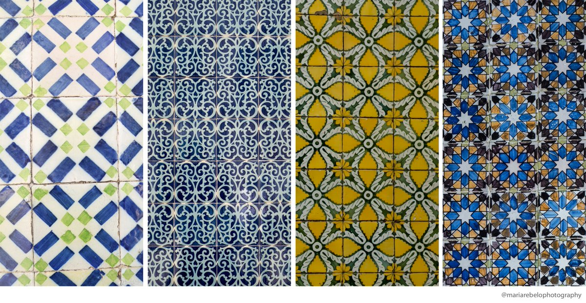 The tikes of Portugal inspired these beautiful scarfs.   https:// buff.ly/2Fns6Ok  &nbsp;   #Portugal #tiles<br>http://pic.twitter.com/BUiX0Uw8WL