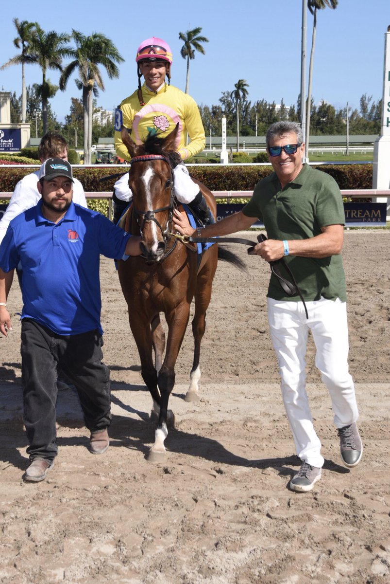 test Twitter Media - G3W/G1P THEWAYIAM has come out of her poor performance in the G2 Lake Placid in good shape. Unbelievably consistent from 9 races in America (4-3-0). Has never had a break since started training as a 2yo we will now give her some time and bring her back @GulfstreamPark. https://t.co/RhovKmwPQy