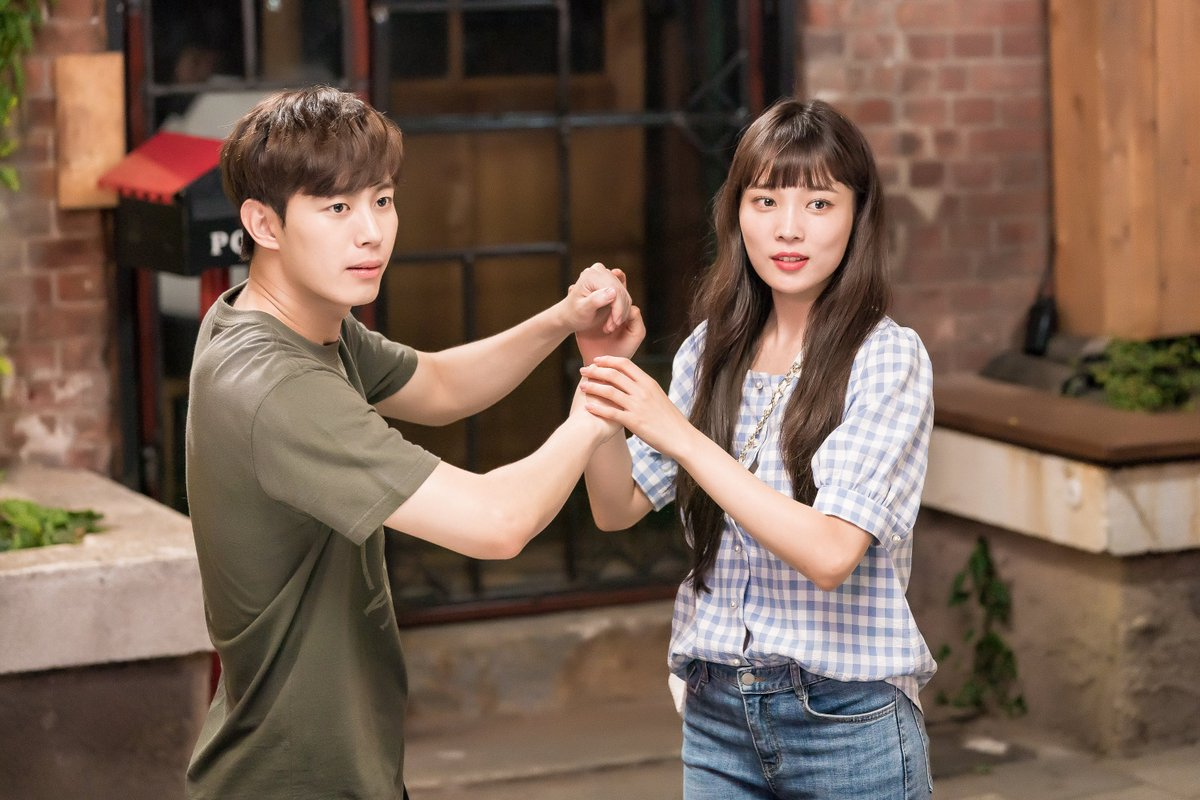 #VIXXs #Hongbin, #HyunWoo, and #YoonSoHee are so cute together on the set of #WitchsLove! Watch it on Viki: bit.ly/WitchsLoveTW