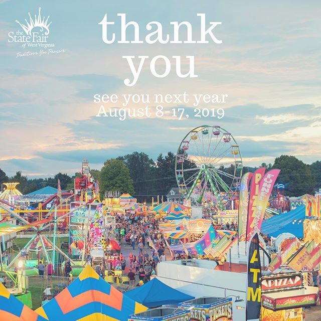 Virginia State Fair >> State Fair Of West Virginia On Twitter Thank You All For
