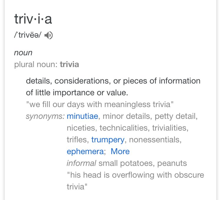 """the meaning of """"trivia"""" is pieces of meaningless information, so the """"trivia"""" tracks could mean things that aren't or aren't seen as important in korea+ <br>http://pic.twitter.com/57cSkiKXJd"""