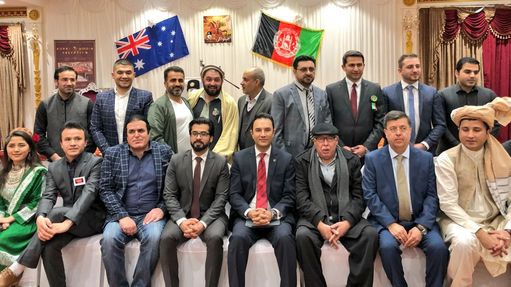 Four #Afghan communities, young men and women in #Dandenong of #Melbourn jointly organized celebration of the 99th Anniversary of Afghanistan's Independence Day 🇦🇫