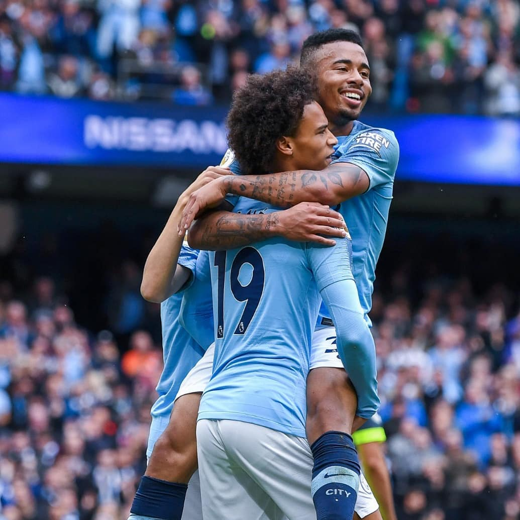 Were back at the Etihad with a firework 🔥⚽🔥 #LS19 #inSané @ManCity