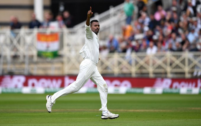 Fantastic cricket, both in front and behind the wickets. Congratulations @hardikpandya7 and @RishabPant777 on your respective 5 wicket hauls! Let's nip this in the bud now. #ENGvIND Photo