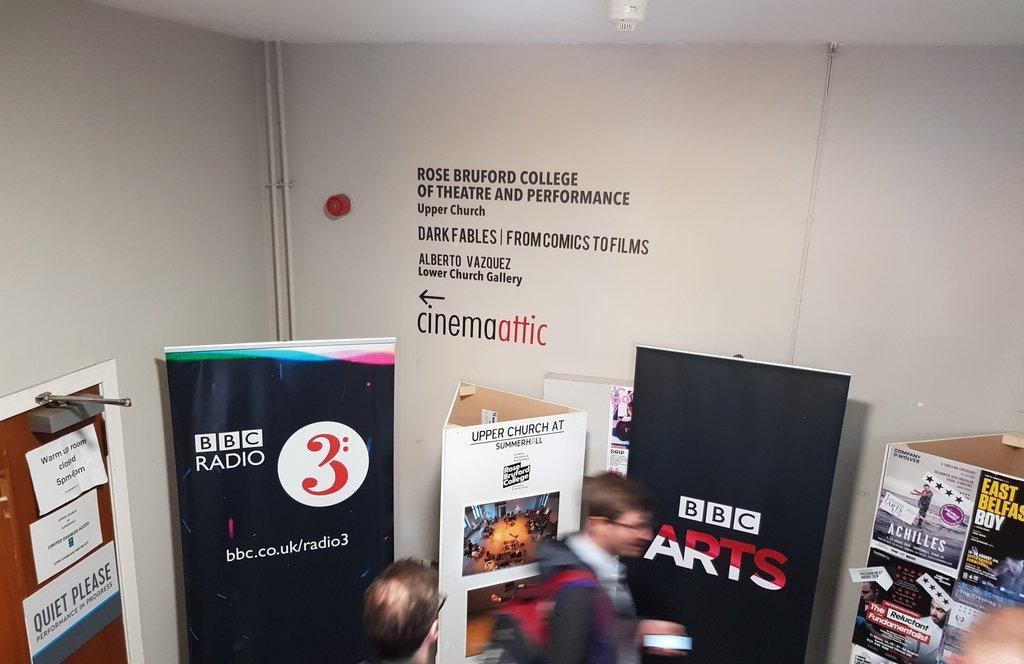 @BBCRadio3 at #Edinburgh #Edinburghfestival