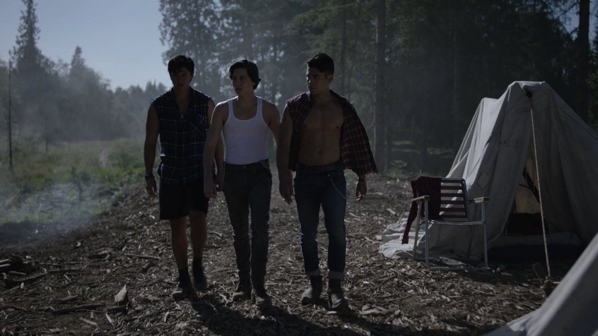 Relaxing summer? Not for the Southside Serpents… Find out why in the season premiere of #Riverdale in 52 days…