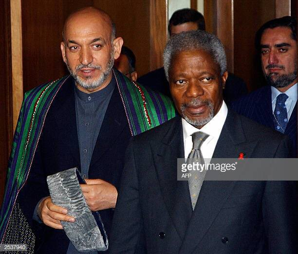It is with great sadness that I learned today of Kofi Annan's passing.The world has lost a champion of peace. As the Secretary-General of the U.N. he visited Afghanistan and helped reconstruction efforts. My profound condolences to late @KofiAnnan's family, friends & colleagues..