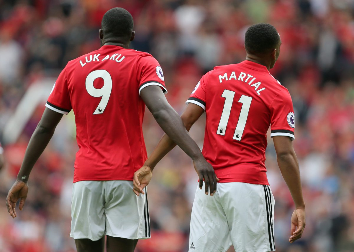 Image result for lukaku and martial