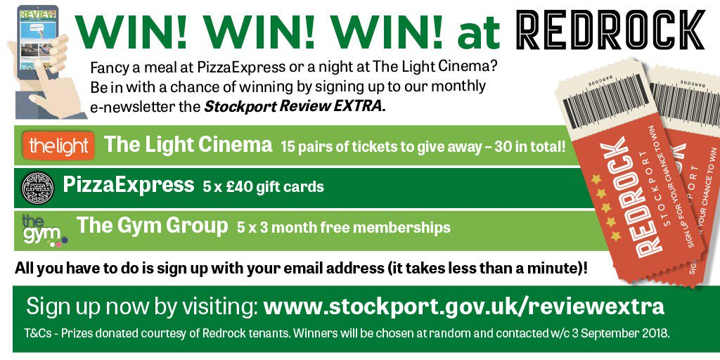 Stockport Council On Twitter You Still Have Chance To Win