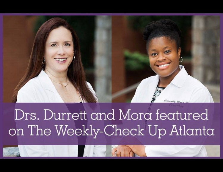 Looking forward to meeting these lovely ladies today! Hosting The Weekly Checkup on @wsbradio from 3-5:00, and happy to take questions about women's health with Avant Gynecology in studio. Call 404-872-0750. 📻 @LenzMarketing