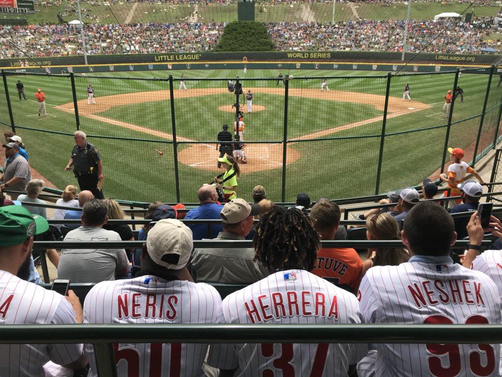 Phillies williamsport game