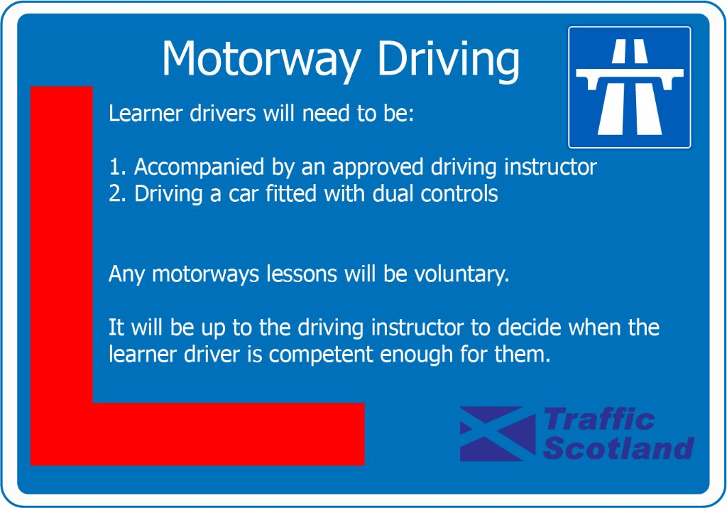 test Twitter Media - Are you a learner driver wanting to practise on the motorway❓  You MUST be accompanied by an approved driving instructor & driving a car fitted with dual controls ✅  Check here for more information and the rules and regulations 👇  🔗LINK 🚘 #BeSafe https://t.co/M9u6GpqQVz