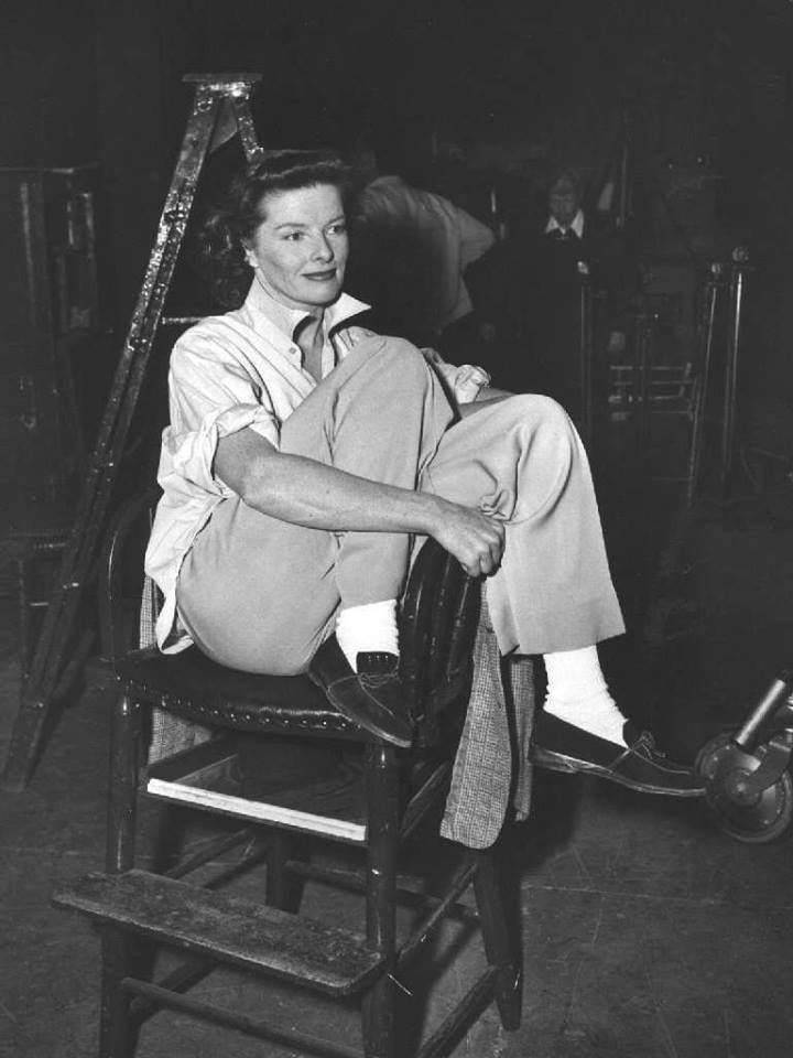 Awesome Kelly On Twitter Me Katharine Hepburn Gay You Caraccident5 Cool Chair Designs And Ideas Caraccident5Info
