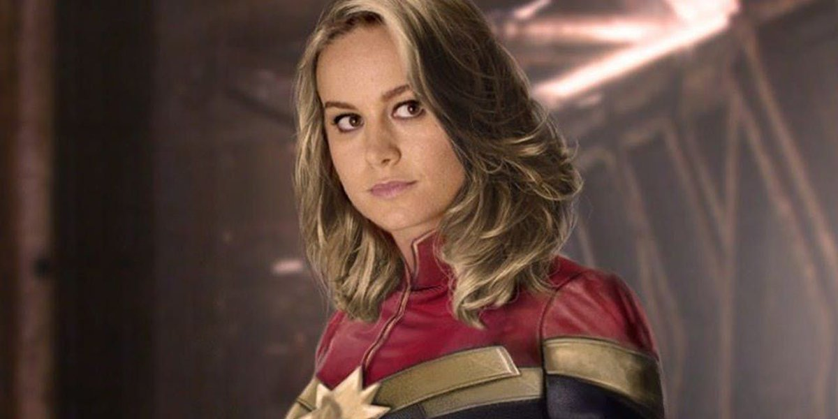 New Brie Larson Captain Marvel Art Surfaces from Magazine Cover buff.ly/2vUNWXG