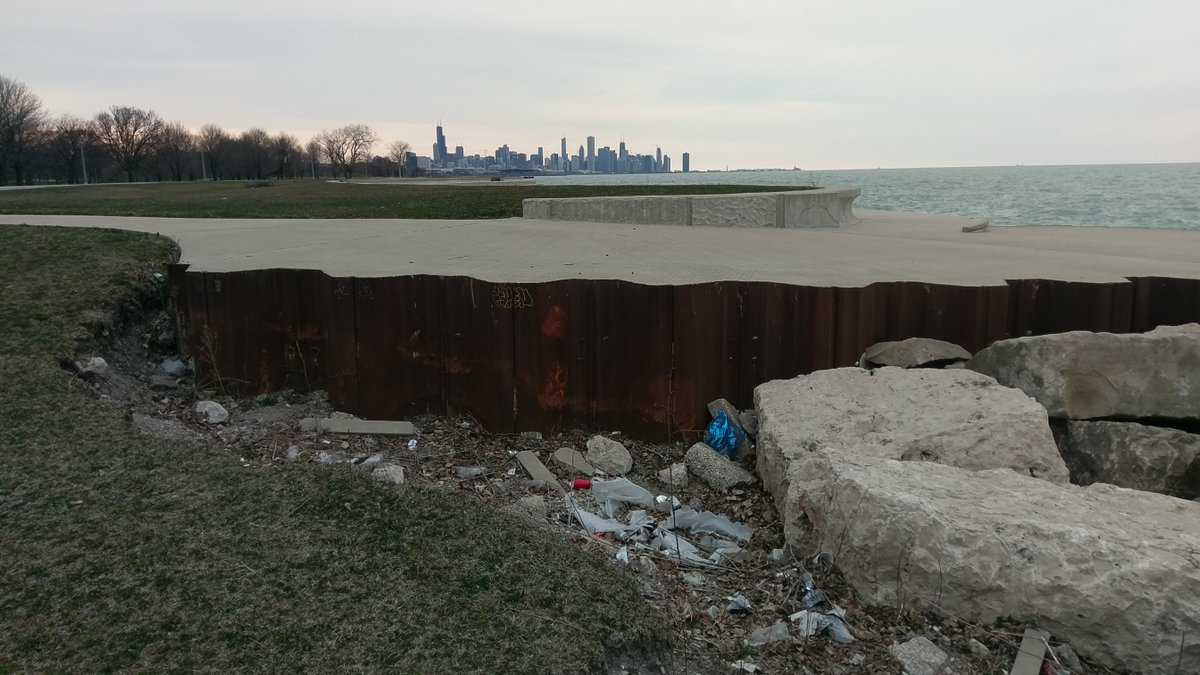 Editing Picks A Glamorous View Skipping The Foreground From 4 23 2018 2 Shots Scenic Chicago South Lake S