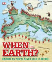 A visually appealing and engaging history book, filled with photographs, maps, and trivia perfect for middle grade readers who are eager for a broad look at world history. Suggested by Kristi. WHEN ON EARTH? by @dkpublishing sno-isle.bibliocommons.com/item/show/8669…