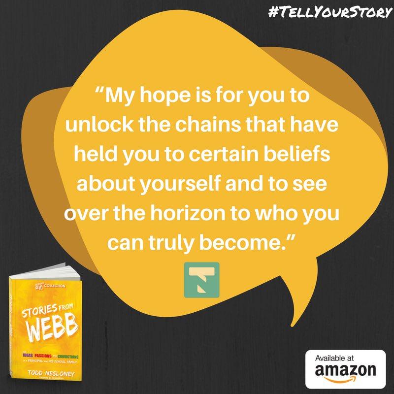 My hope.... #TellYourStory #KidsDeserveIt #sparksinthedark