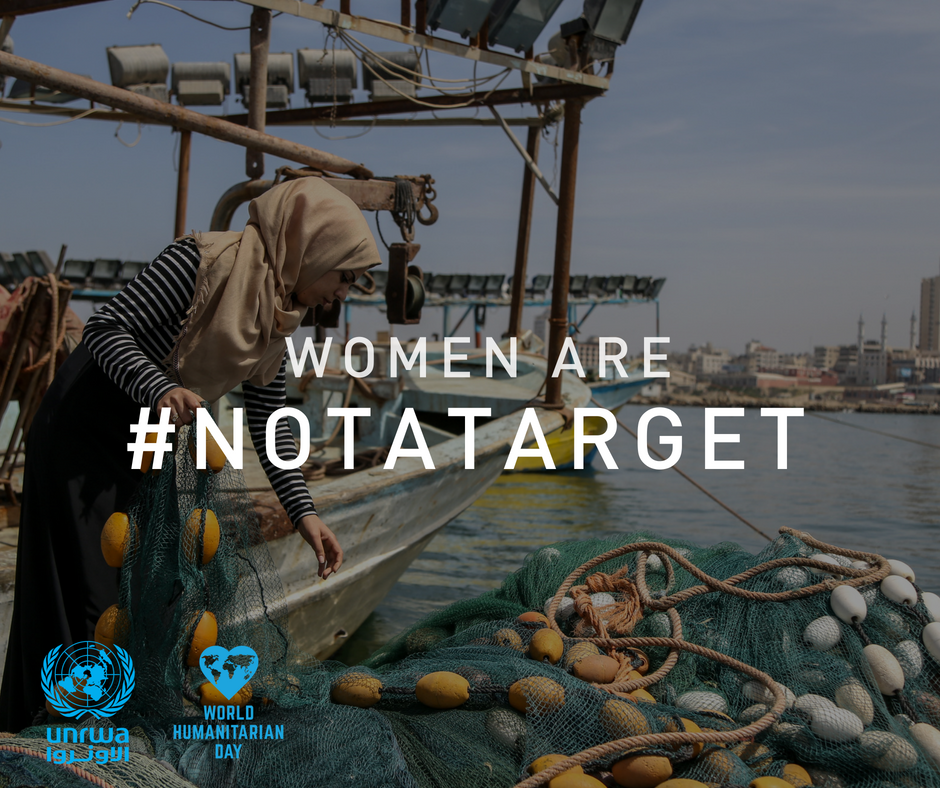 We stand for the right of Palestine refugees to work and live in dignity. Madleen, the first fisher women in Gaza, risks her life every day to earn a living bit.ly/2nPlQbP Women are #NotATarget Refugees are #NotATarget Join #DignityIsPriceless unrwa.org/join