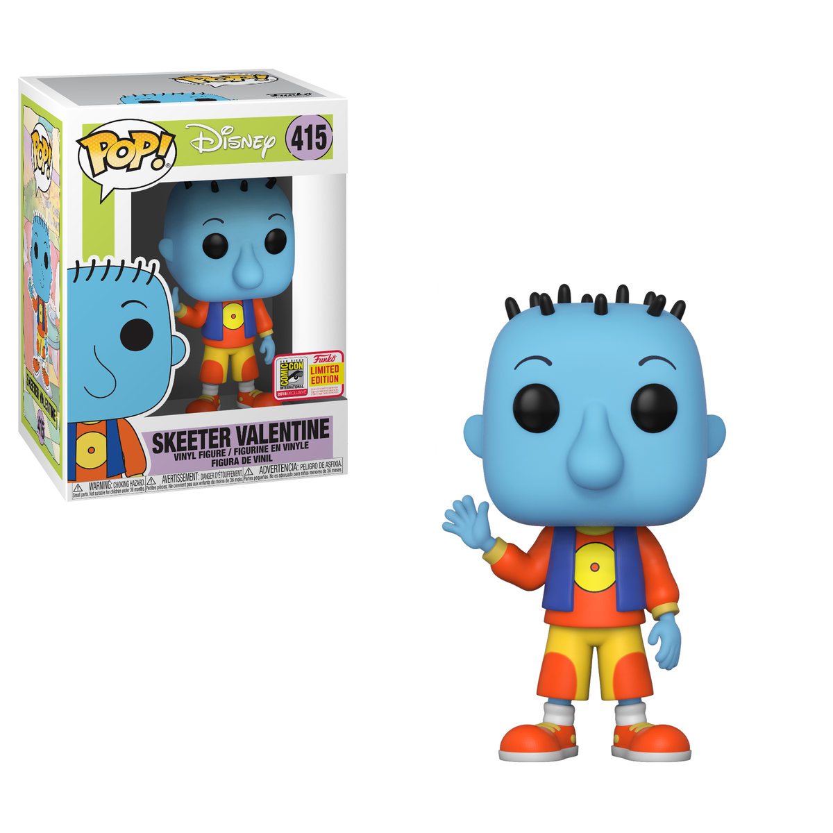 RT & follow @OriginalFunko for the chance to win an #SDCC 2018 exclusive Skeeter Valentine Pop! #FunkoSDCC