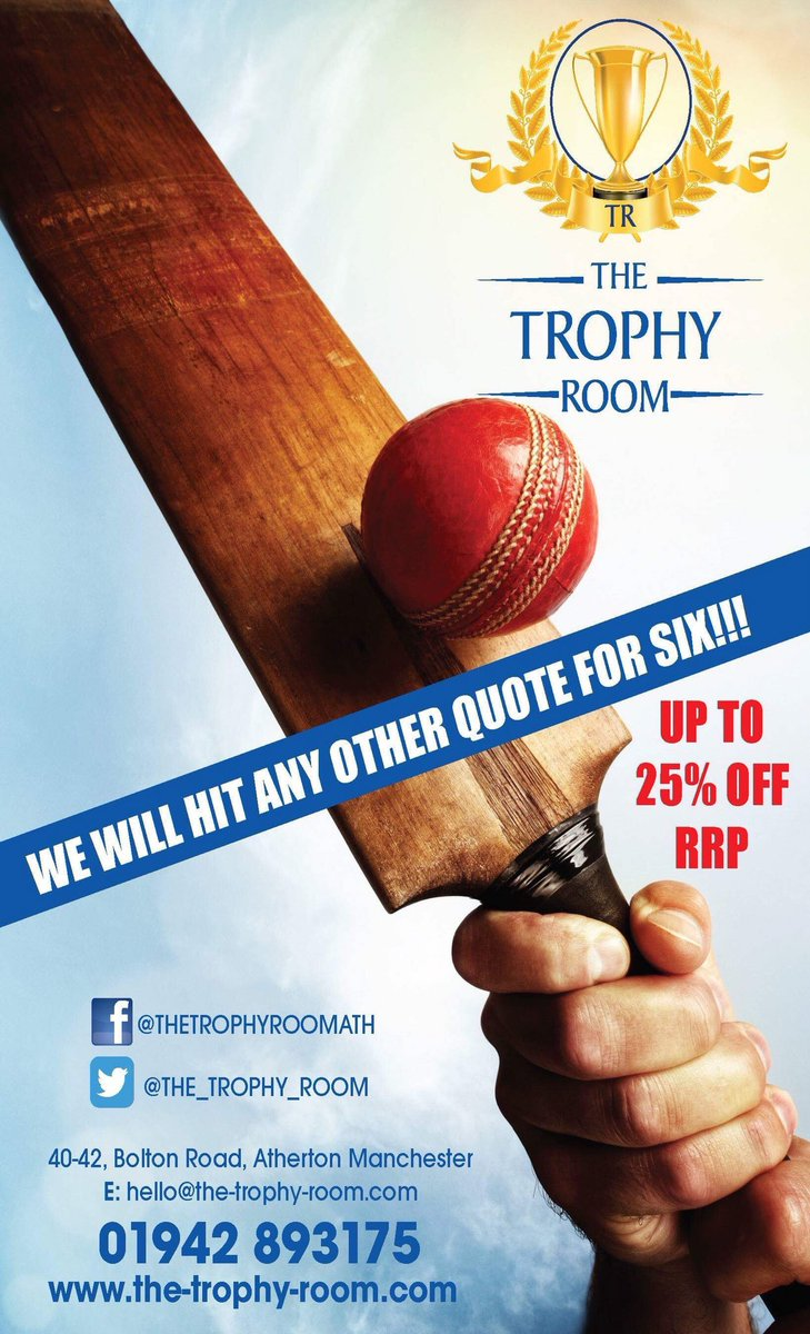 Another Great Selection Of Cricket Awards Arrived Today Up To 25 Off RRP Check Out Our Website At The Trophy Room See What We Offer