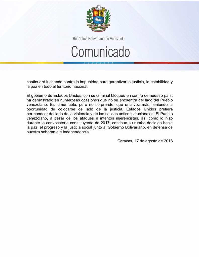 Agresión estadounidense a Venezuela - Página 8 Dk0-ZqNXgAAwohP
