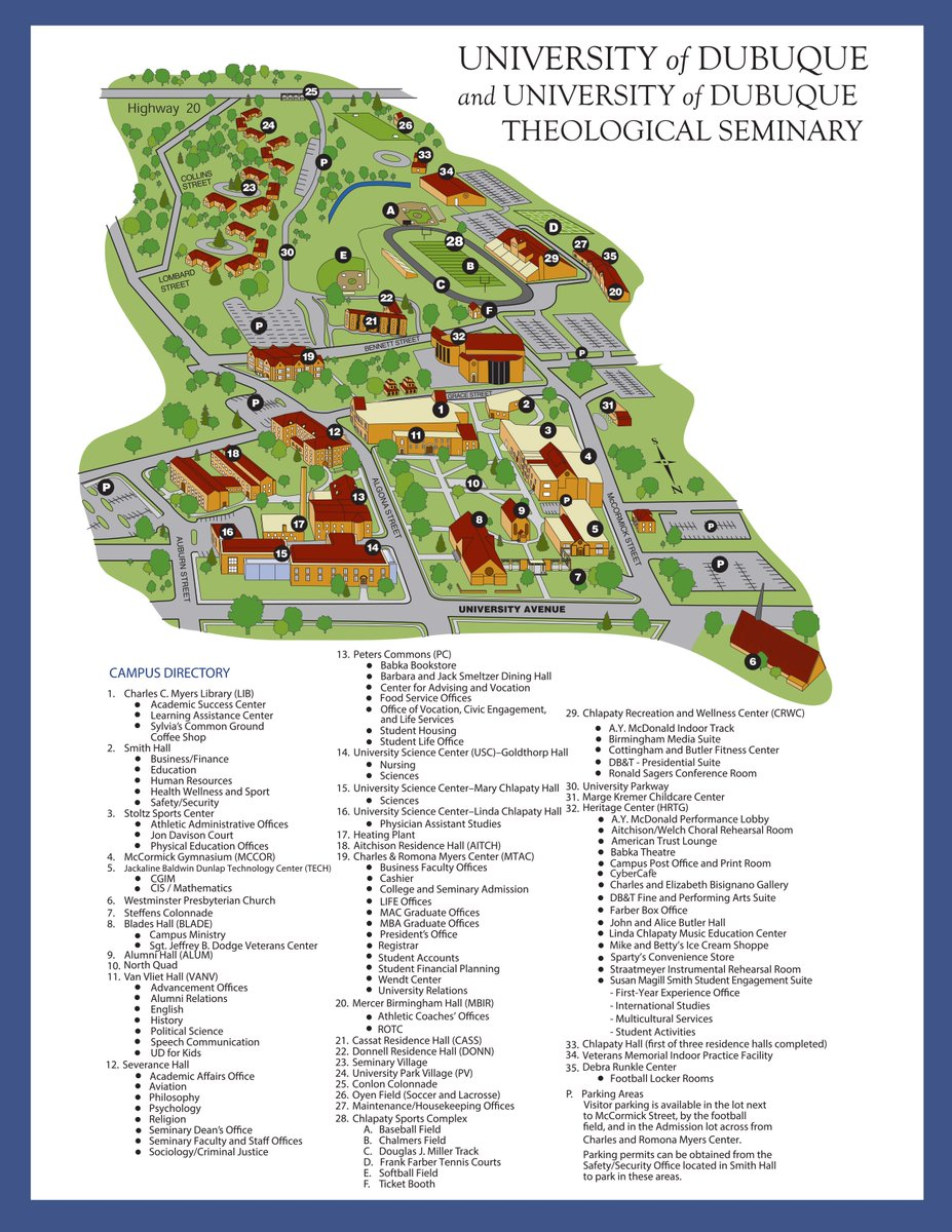 university of dubuque campus map University Of Dubuque On Twitter Moving In Tomorrow Check Out university of dubuque campus map