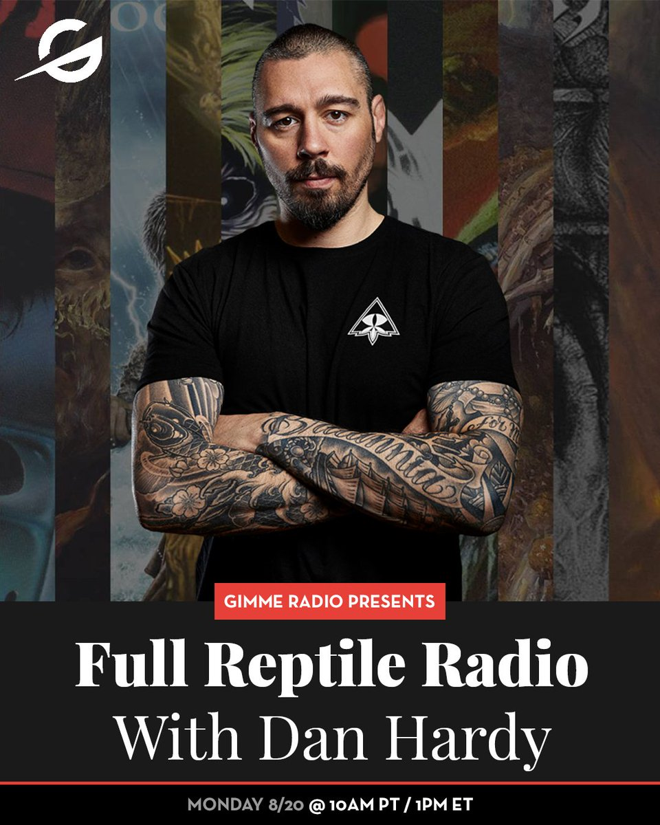 """Gimme Radio is proud to announce UFC star Dan """"The Outlaw"""" Hardy into our roster of DJs! Check out the premiere of 'Full Reptile Radio' on Monday August 20th at 10 AM PST / 1 PM EST. @danhardymma @ufc #fullreptileradio #danhardy #theoutlaw #ufc #gimmeradio"""
