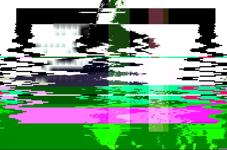 first nodejs codeart generative from glitch bot